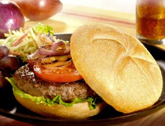 """Italian """"Hot Pepper"""" Burger"""